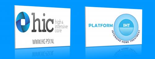 Afbeelding Logo HIC IHT blauwe balk