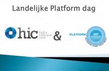 Impressie Platformdag HIC- IHT 10 november 2015
