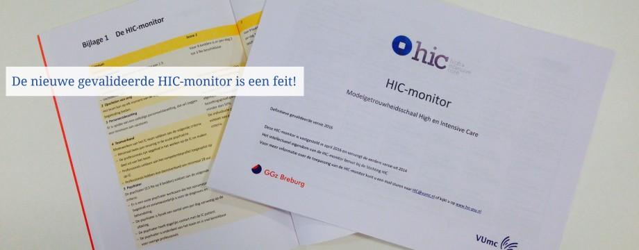De nieuwe HIC-monitor is een feit!